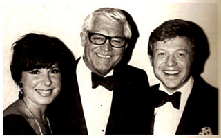 Eydie with Cary Grant and Steve