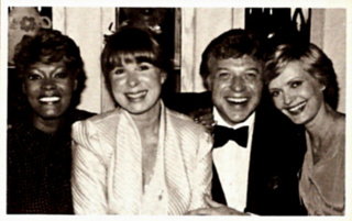 Eydie and Steve with Dionne Warwick and Florence Henderson