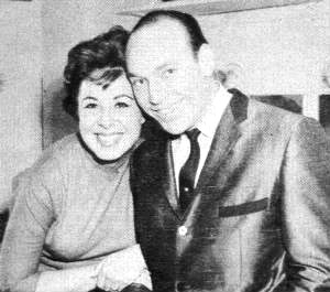 Eydie and singer Duke Hazlett