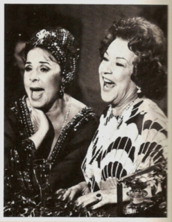 Eydie and Ethel Merman