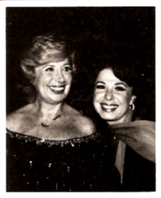 Eydie with Beverly Sills