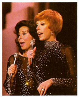Eydie and Carol Burnett