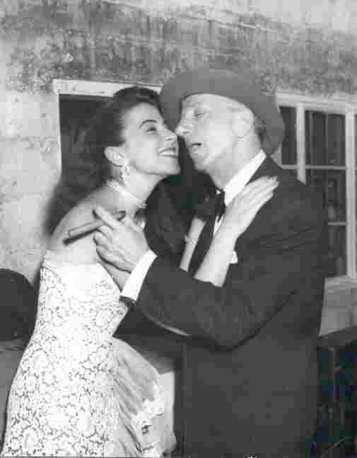 Eydie and Jimmy Durante