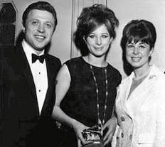 Eydie, Steve Lawrence, and Barbra Streisand