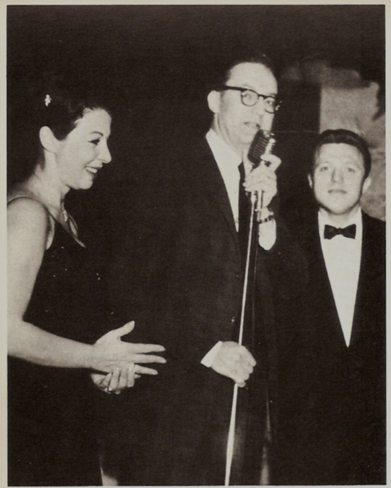 Eydie with Steve Allen and Steve Lawrence