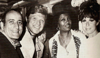Eydie with Tony Bennett, Steve, and Pearl Bailey